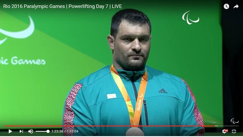 جميل الشبلي الأردن الميدالية البرونزية رفع الأثقال وزن+107