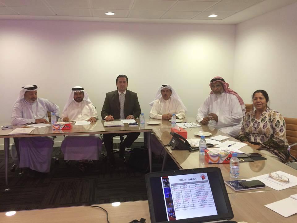 زيارة ناجحة واجتماع مثمر لاتحاد غرب آسيا مع اللجنة البارالمبية البحرينية