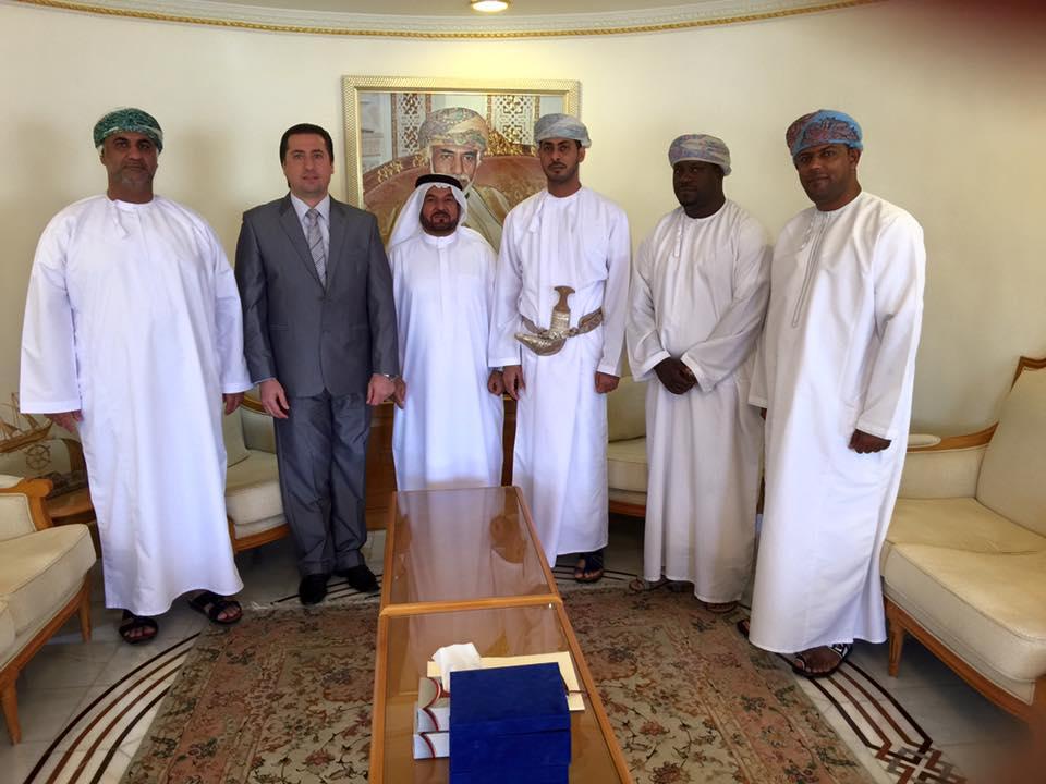 زيارة ناجحة واجتماع مثمر للاتحاد البارالمبي لمنطقة غرب آسيا مع اللجنة البارالمبية الوطنية العمانية