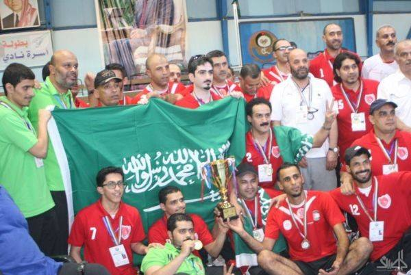 نادي مكة المكرمة بطلاً لأندية غرب آسيا الأولى للكرة الطائرة من الجلوس