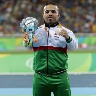 ولدان نخيلاوي العراق الميدالية الفضية ألعاب القوى مسابقة رمي الرمح