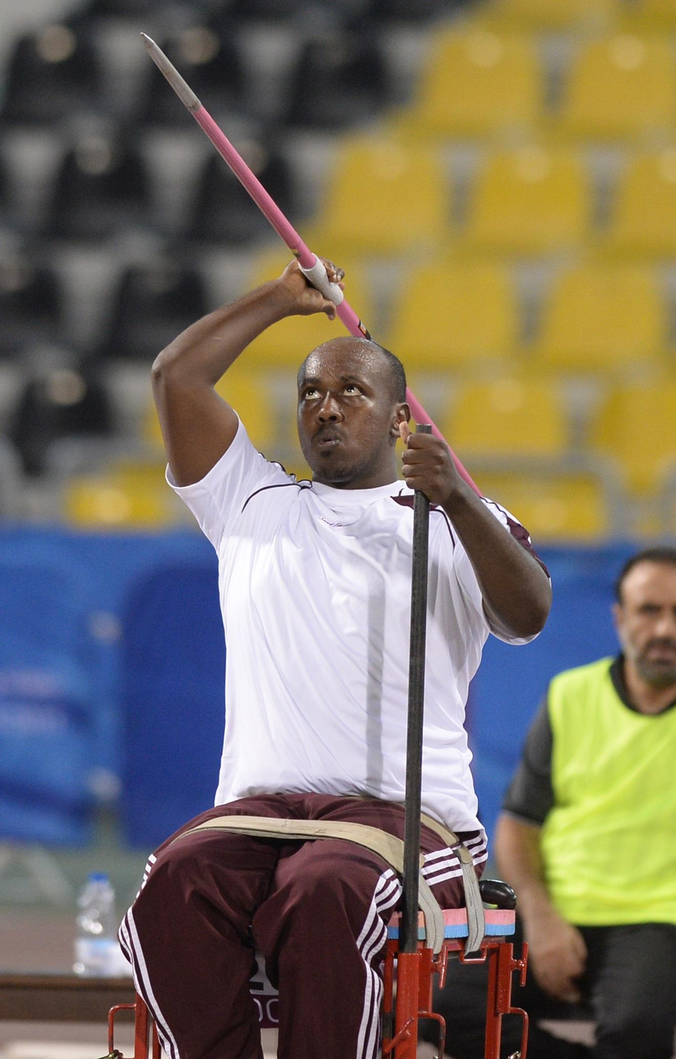 أبطال منطقة غرب آسيا في باراليمبيك ريو 2016 قطـــر