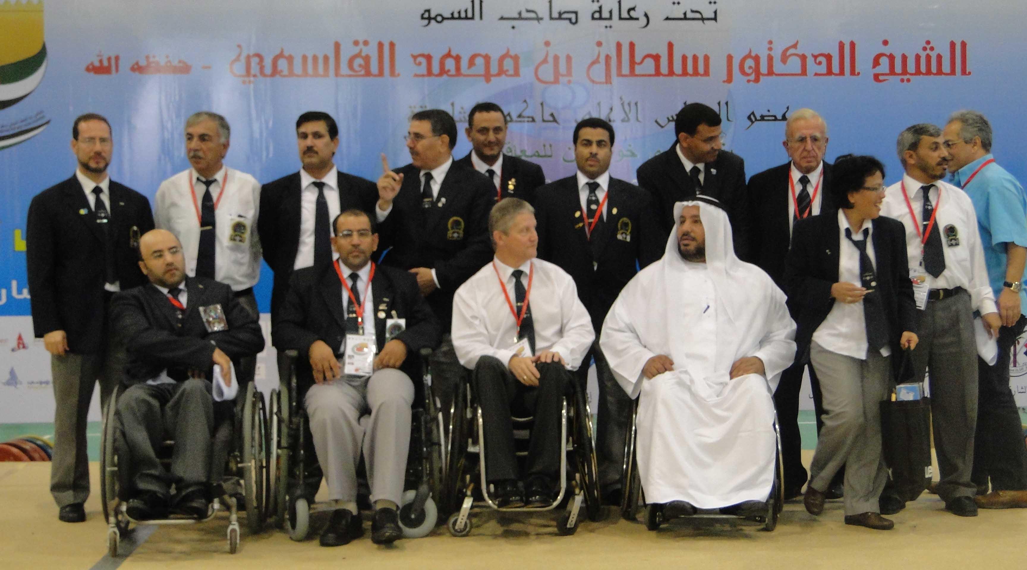 بطولة غرب آسيا لرفع الأثقال للمعاقين - الامارات 2009