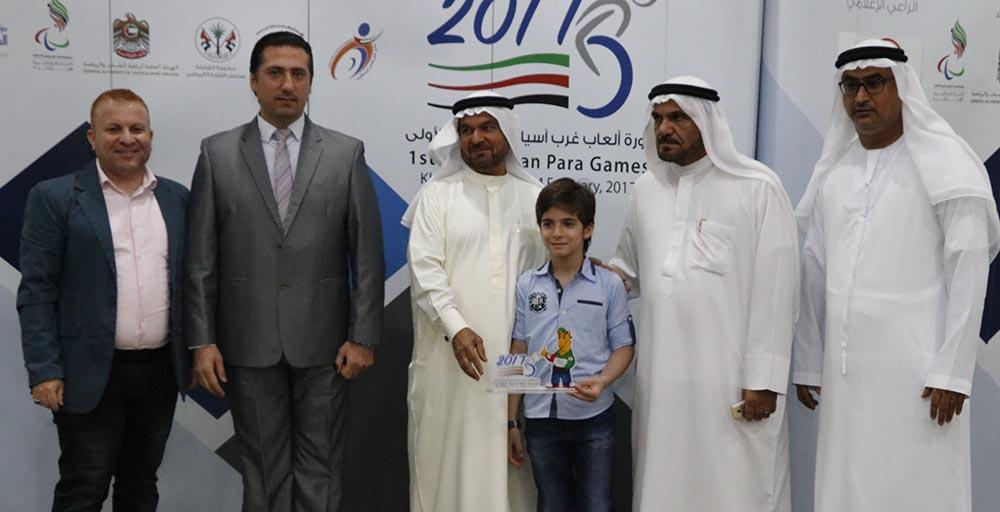 (من لا يشكر الناس لا يشكر الله) حفل تكريم دورة ألعاب غرب آسيا البارالمبية الأولى خورفكان 2017