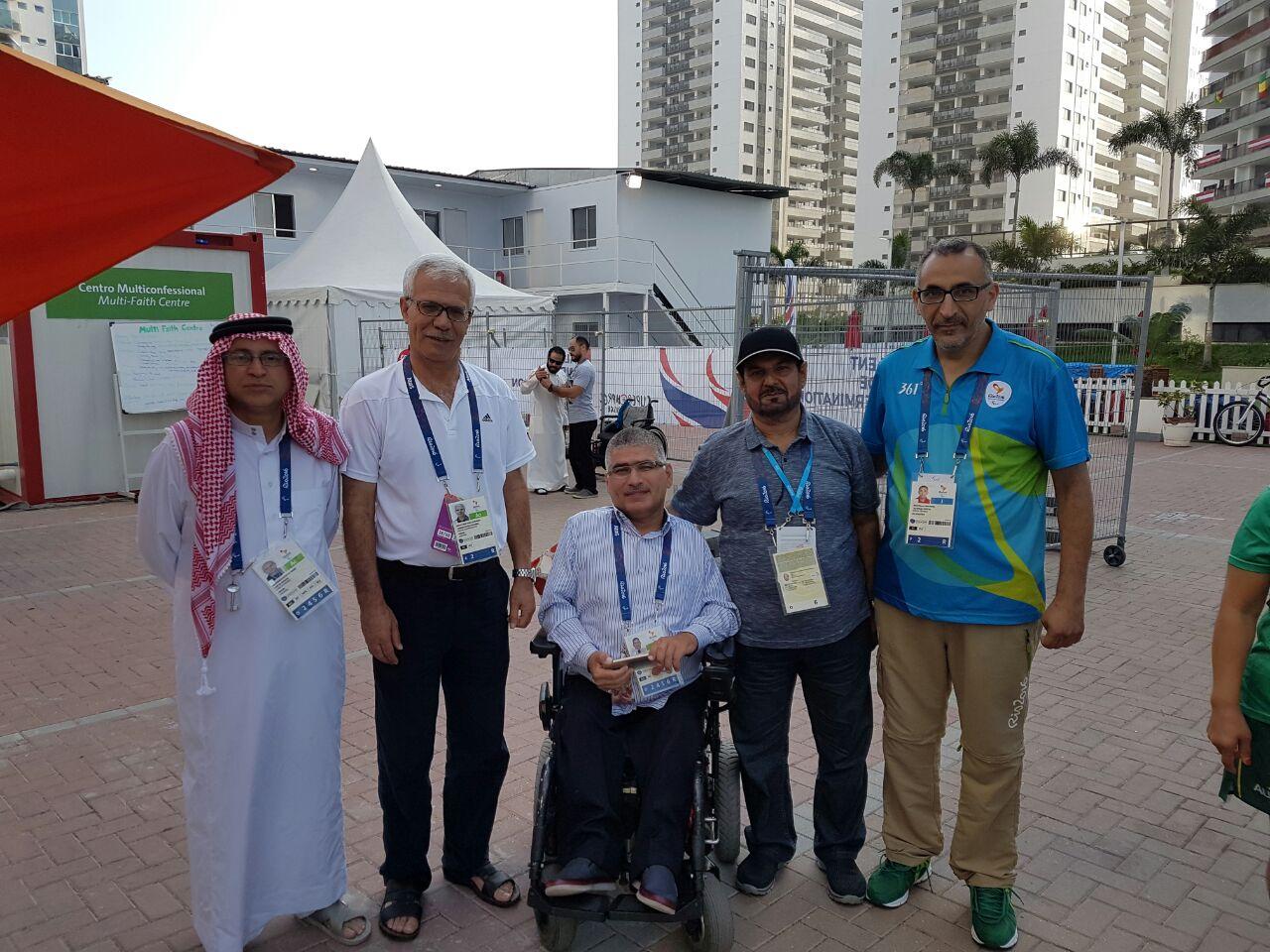 رئيس الاتحاد يشارك في دورة الالعاب البارالمبية ريو 2016 ويلتقي رؤساء اللجان البارالمبية الوطنية