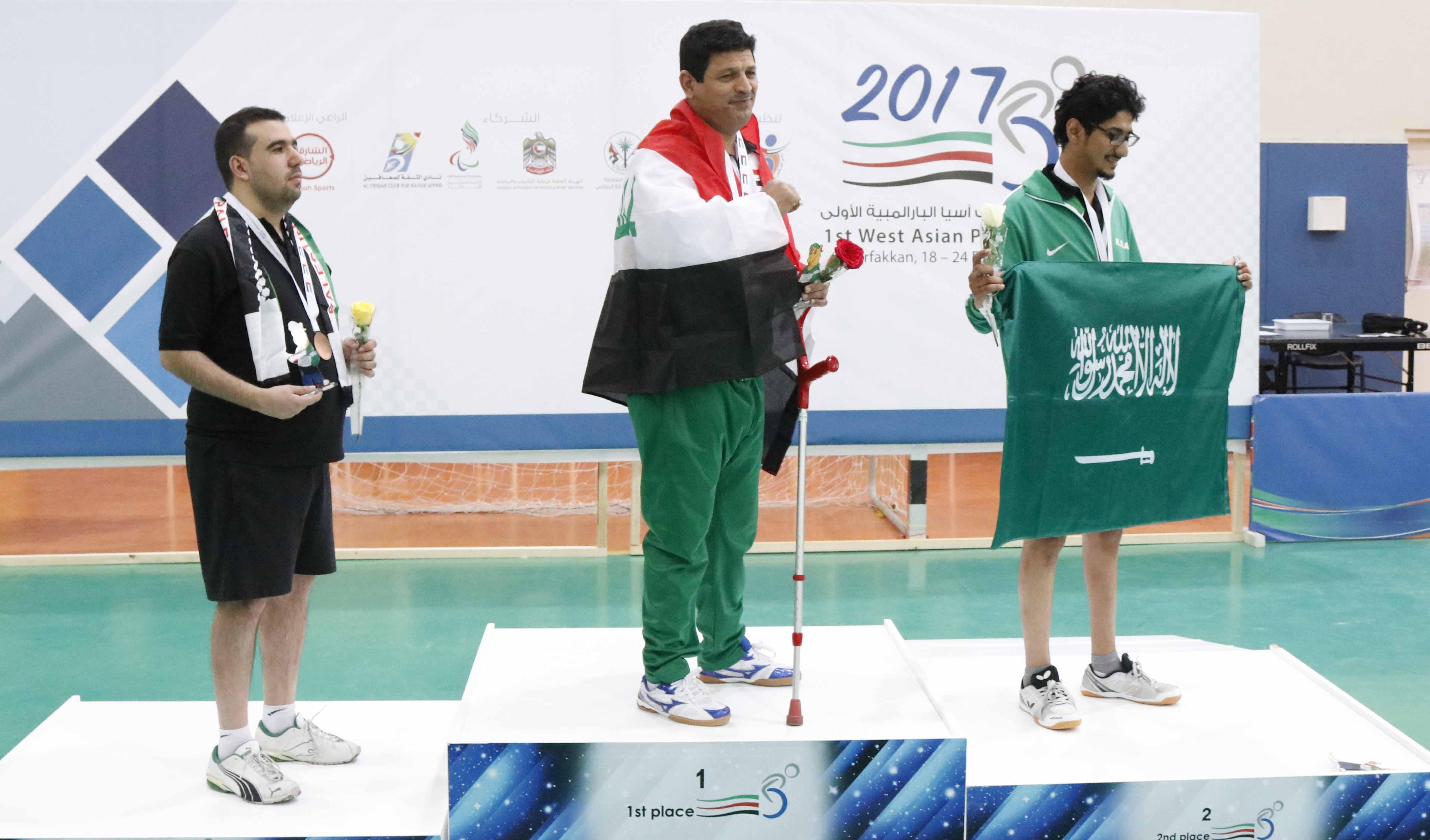 Photo of النتائج النهائية لتنس الطاولة لدورة العاب غرب آسيا البارالمبية الأولى