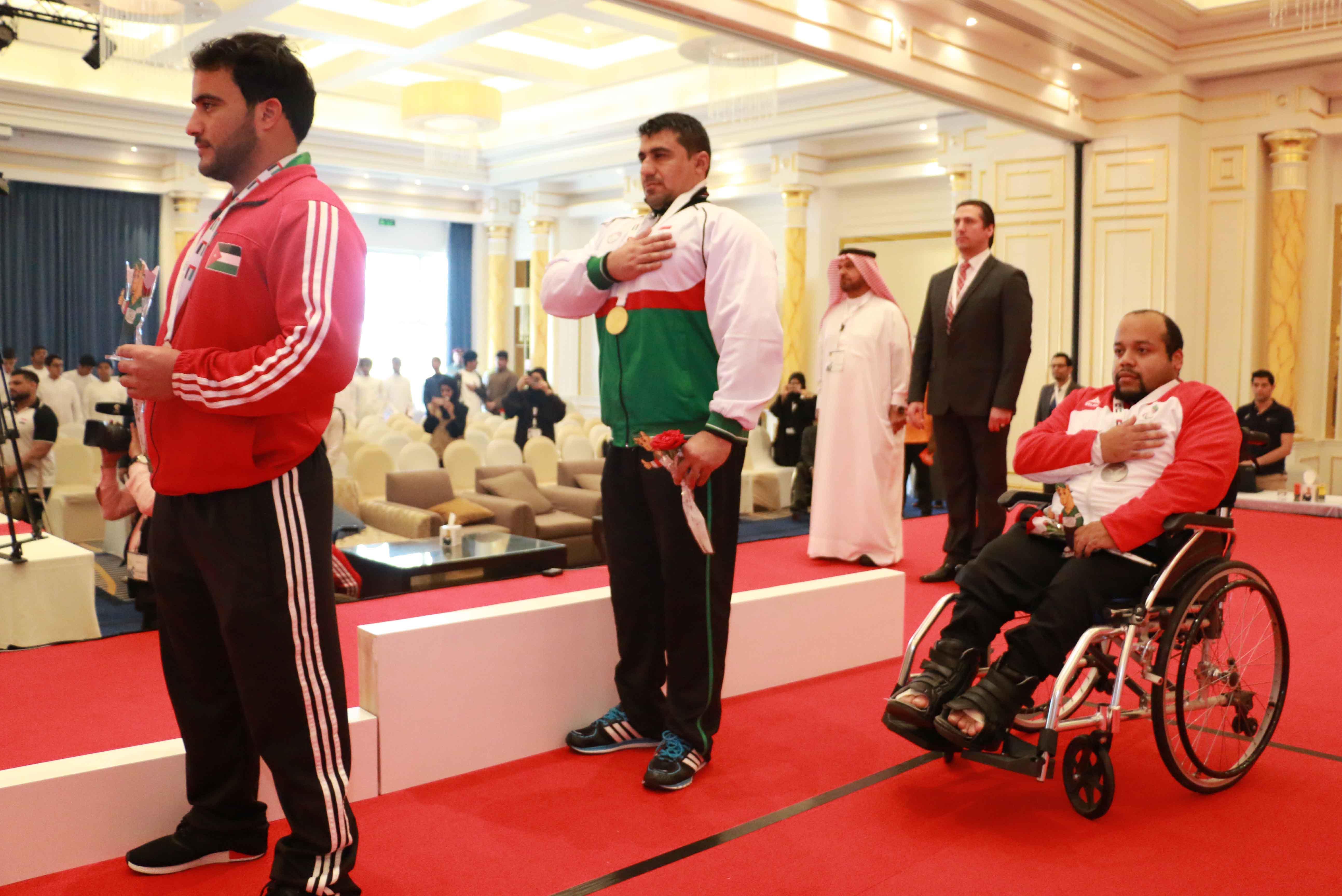 Photo of النتائج النهائية لرفع الأثقال لدورة ألعاب غرب آسيا البارالمبية الأولى