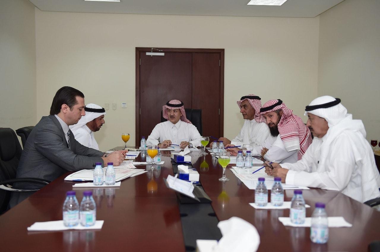 Photo of زيارة ودية واجتماع ثنائي بين اتحاد غرب آسيا واللجنة البارالمبية السعودية