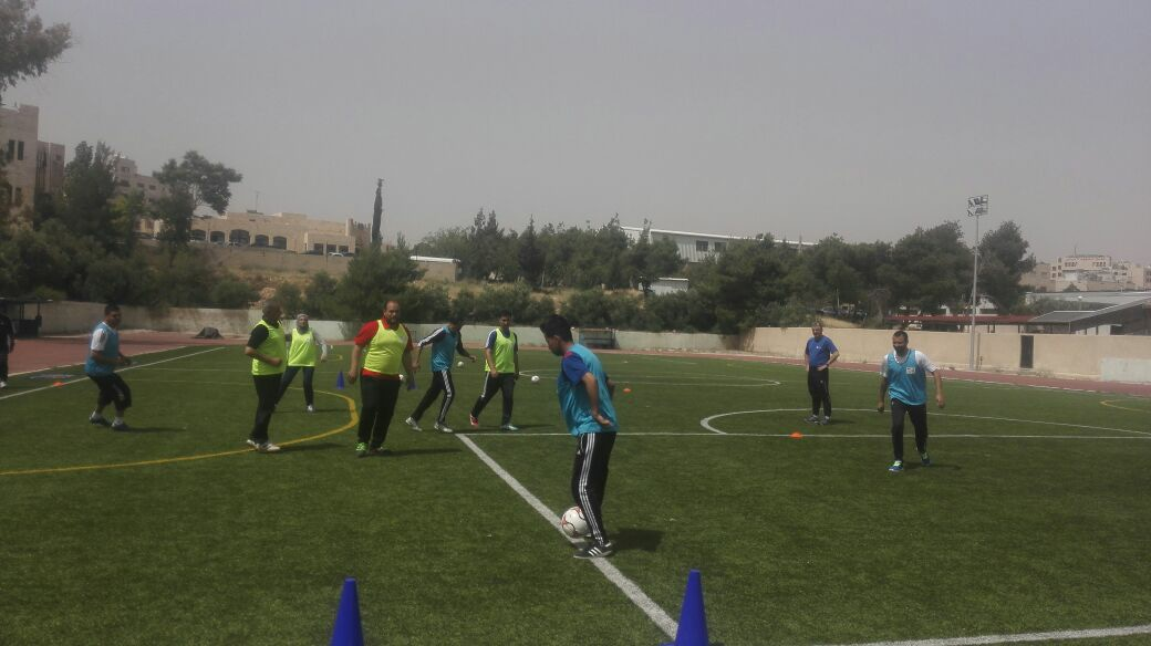 الدورة الدولية لتأهيل مدربي كرة القدم للشلل الدماغي 7-Aside