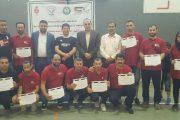 ختام الدورة الدولية لحكام كرة الهدف لدول غرب آسيا في مدينة رام الله بفلسطين