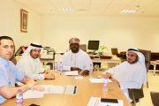 وفد الاتحاد في زيارة تحضيرية لاجتماع الجمعية العمومية الانتخابي الخامس