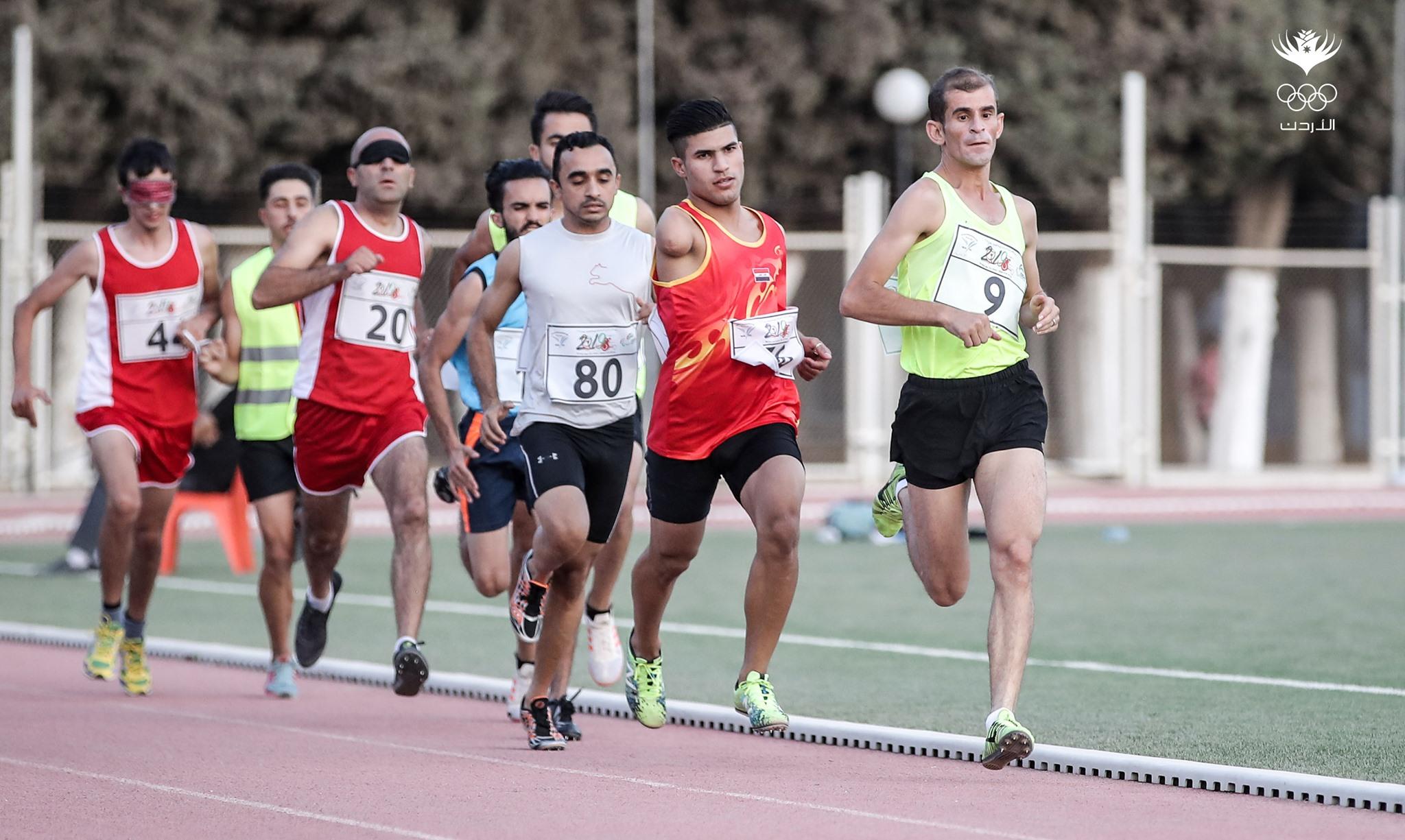 صور من منافسات اليوم الثالث لدورة ألعاب غرب آسيا البارالمبية الثانية عمان ٢٠١٩