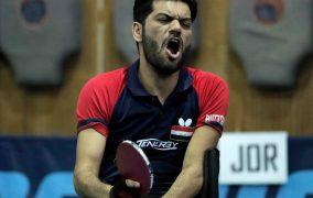 نتائج تنس الطاولة لدورة ألعاب غرب آسيا البارالمبية الثانية عمان 2019